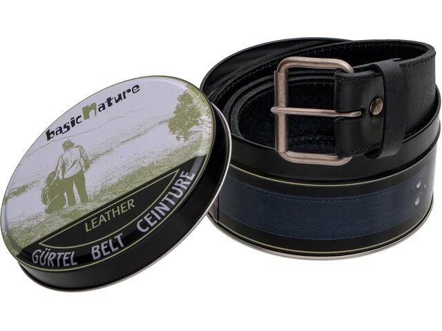 Basic Nature Classic Cinturón monedero en bote, black